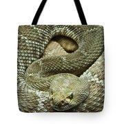 Red Diamond Rattlesnake 3 Tote Bag