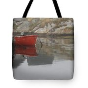 Red Dinghy  Tote Bag
