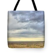 Red Dirt Blue Storm Tote Bag