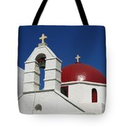 Red Dome Church 2 Tote Bag