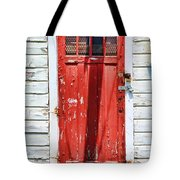 Red Door By Diana Sainz Tote Bag by Diana Sainz