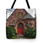 Red Door Church Tote Bag