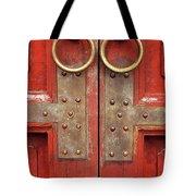 Red Doors 02 Tote Bag