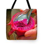 Red Dragon Fruit In Sukhothai-thailand Tote Bag