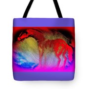 This Red Dragon Is Hot And Ready To Fly Off  Tote Bag
