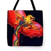 Red Dragon Kite Tote Bag