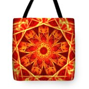 Red Dynasty Tote Bag