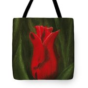 Red Elegance Tote Bag