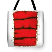 Red Element Tote Bag