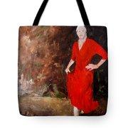 Red Ellegance Tote Bag