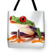 Red-eye Tree Frog 1 Tote Bag
