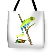 Red-eyed Treefrog From La Selva Tote Bag