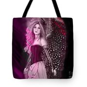 Red Fairy Tote Bag