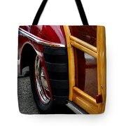 Red Fendered Woodie Tote Bag