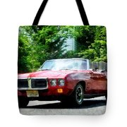 Red Firebird Convertible Tote Bag