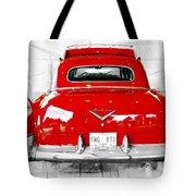 Red Fleetwood Tote Bag