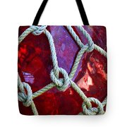 Red Float Tote Bag
