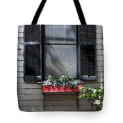 Red Flower Box St Augustine Tote Bag