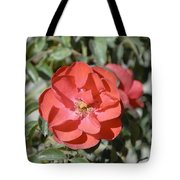 Red Flower II Tote Bag
