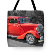 Red Ford 3d21740 Tote Bag