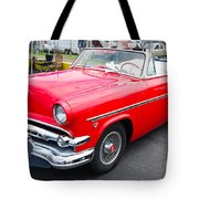 Red Ford Convertible Tote Bag