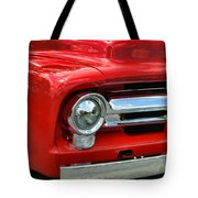 Red Ford Truck Tote Bag