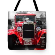 Red Ford Ute Tote Bag