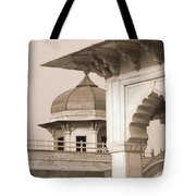 Red Fort Tote Bag