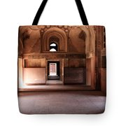 Red Fort Agra India Tote Bag