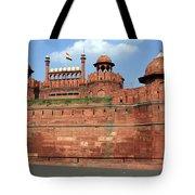 Red Fort New Delhi India Tote Bag