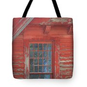 Red Gable Window Tote Bag