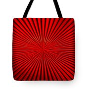 Red Glass Abstract 1 Tote Bag