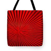 Red Glass Abstract 3 Tote Bag