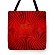 Red Glass Abstract 4 Tote Bag