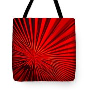 Red Glass Abstract 6 Tote Bag