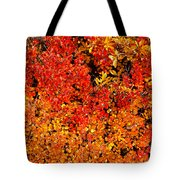 Red-golden Alpine Shrubs Tote Bag