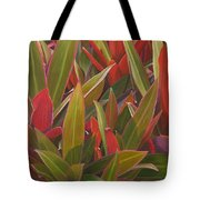 Red Green And Purple Tote Bag
