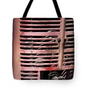Red Grill Tote Bag
