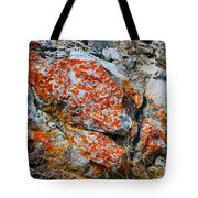 Red Growth Rock Tote Bag
