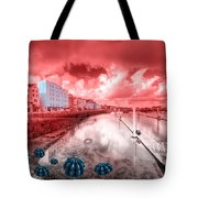 Red Harbouring  Tote Bag