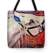 Red Hay Bag Tote Bag