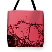 Red Haze Tote Bag