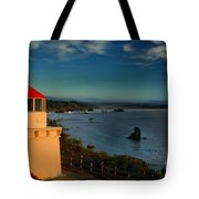 Red Head Light Tote Bag