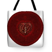 Red Heart Turtle 2014 Tote Bag by Douglas K Limon