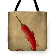 Red Hot Chili Pepper Poster  Tote Bag