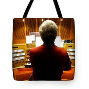 Red Hot Organist Tote Bag