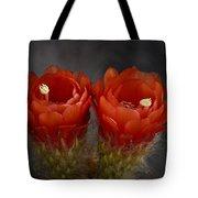 Red Hot Pair  Tote Bag