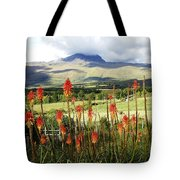 Red Hot Pokers Of The Andes Tote Bag