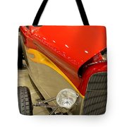 Street Car - Red Hot Rod Tote Bag