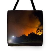 Red Hot Shower Tote Bag